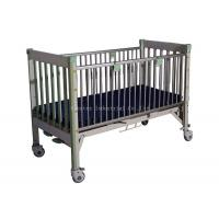 China Height Adjustable Pediatric Hospital Bed , Toddler Hospital Bed Full Length Guard Rails on sale