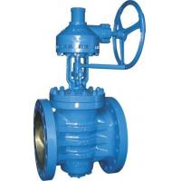 China Bevel Gear Carbon Steel Plug Valve wholesale