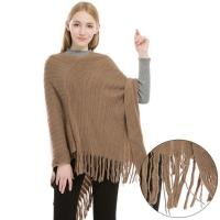 China Cashmere Feel Poncho Sweater wholesale