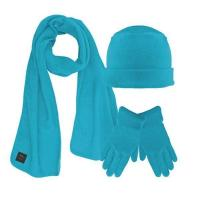China Fleece Hat Scarf Glove Set wholesale