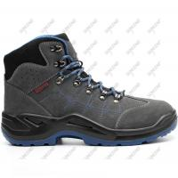 China Industrial Construction Mens Leather Iron Anticollision Steel toe Safety Shoes on sale