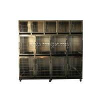 China KA-505-304 Stainless Steel Flat Packing Professional Modular Kennel With Solid Walls wholesale
