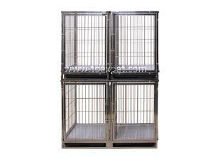 Quality KA-503SS Stainless Steel Professional Modular Dog Crates (Wire) for sale