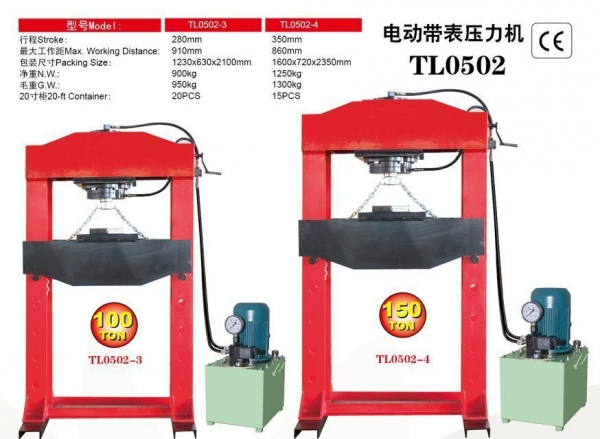Quality TL0502-4Press With Gauge for sale