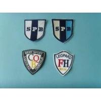 China Football jersey iron on embroidery patch on sale