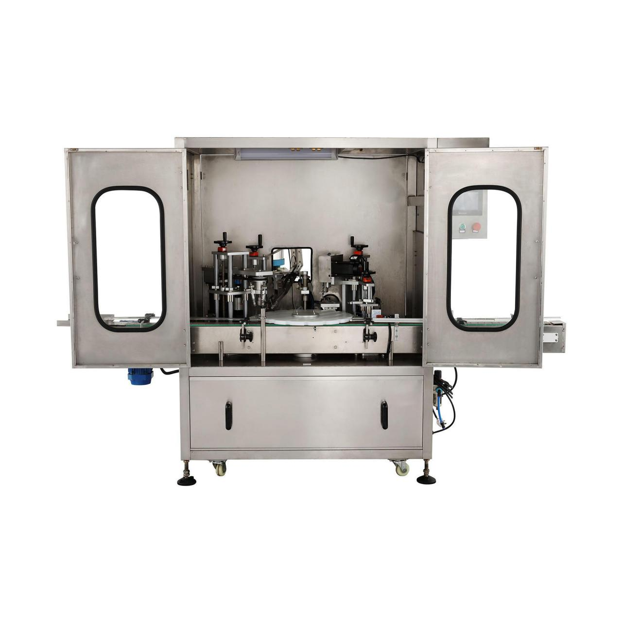 China Chuck type filling cap locking all-in-one machine wholesale