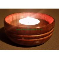 China Red cedar candle holder pen wholesale