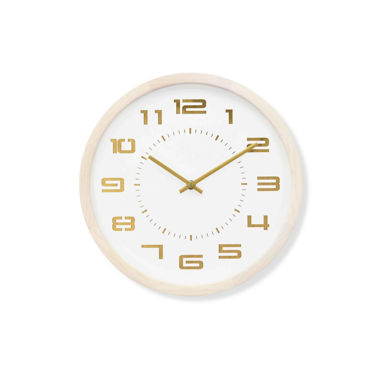 China Nordic Trendy Style Solid Wood Wall Clock wholesale