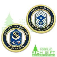 China Custom Air Force coin for 7th Bomb Wing Commend Chief of Texas on sale