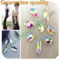 China High Quality sew on acrylic resin stone for bridal dress on sale