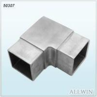 China Stainless Steel Square Angle Tube Connector wholesale