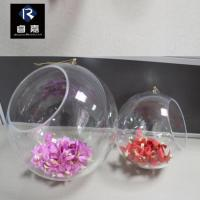 China Christmas Ball collection Whole openable clear plastic ball on sale