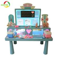 China Preschool Educational Toy Doctor Table Play Set Plastic Toy Doctor Set For Kids on sale