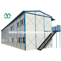 Buy cheap Prefabricated house with Two storey for Dormitory from wholesalers