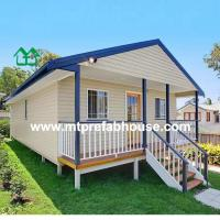 Buy cheap ISO certificated Prefabricated Villa house from wholesalers