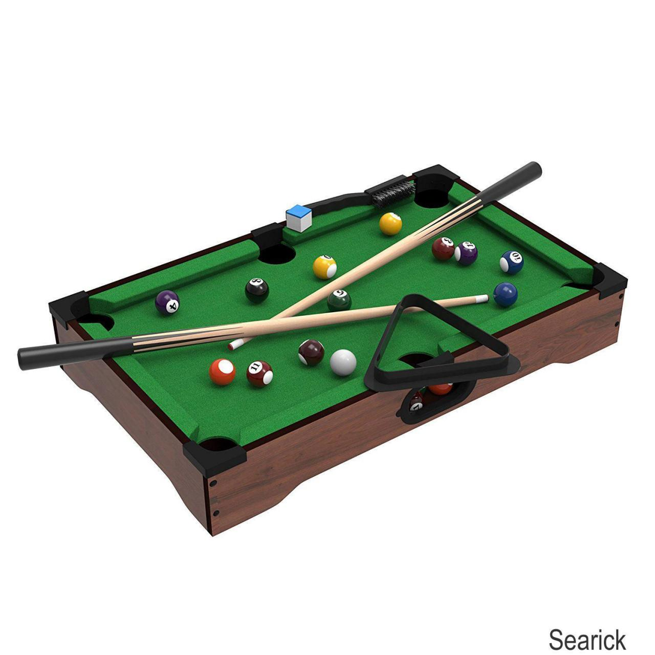Buy cheap Mini Tabletop Pool Set- Billiards Game Includes Game Balls, from wholesalers