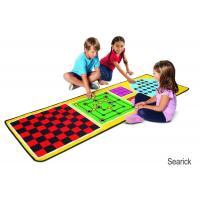 Buy cheap Melissa & Doug 4-in-1 Game Rug (78.5 x 26.5 inches) - 4 Board Games, 36 Game Pieces from wholesalers