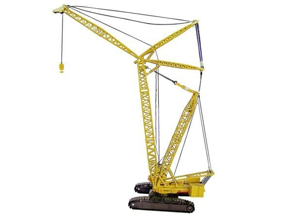 Quality Construction machinery Models 1:50 scale Diecast crane model for sale