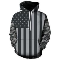 China Male Fitness 3D Hoodies Mens Sublimation Hoodie wholesale
