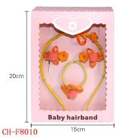China CH-F8010 Custom girl hair accessory sets hair clasp hair band Combination packages on sale