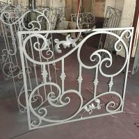 China Wrought Iron Window Wrought iron Window grills for house I-W-000 wholesale