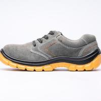 China Stock Mens S1P Safety Shoes Boots With Steel Toe Made For UK wholesale