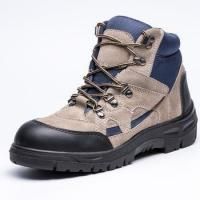 China Outsole non conductive metal free leahter safety work boots/safety shoes on sale