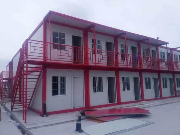 Quality Easy Install Flat Packing Prefabricated/Prefab Container House for sale