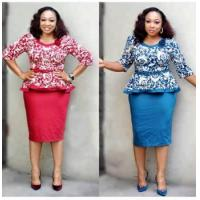 China ladies plus size business formal top and skirt suit20 Set/Sets wholesale