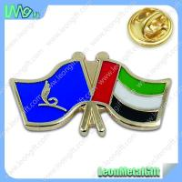 Buy cheap Custom metal National Day flag badge and lapel pin with epoxy from wholesalers