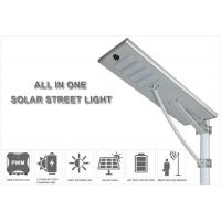 Buy cheap high power outdoor waterproof ip65 all in one solar led street light from wholesalers