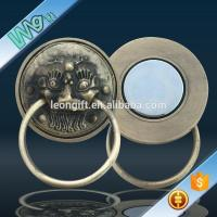 Buy cheap 3D lion metal fringe magnet with your design from wholesalers