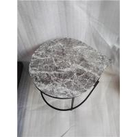 Buy cheap Grey Marble Water Drop Table from wholesalers