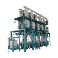 Buy cheap 100-200T Corn Flour Production Line from wholesalers