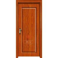 China Factory Direct Sale BS 90 Min Rating Time Fire Rated Steel Wood Door on sale