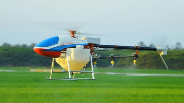 Quality Single-rotor Agriculture Drone 17L Sprayer Helicopter for sale