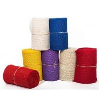 Hot Selling Density 30*30 Color Burlap Hessian Cloth Printed Fabric Jute Roll For Packing