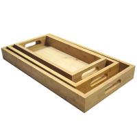 China Wine Rack Bamboo Tray BD-BT1001 wholesale