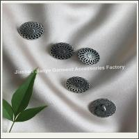 China Retro color with hollowed-out metal buttons wholesale