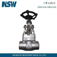 China Forged Stainless Steel Gate Valve on sale