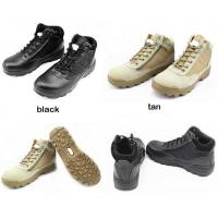 Buy cheap combat boots desert tactical boots with side zip for easy on/off from wholesalers