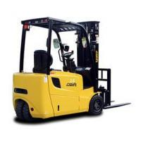 Buy cheap Material Handing Equipment 1.6T Three Wheel Electric Forklift from wholesalers
