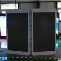 Buy cheap Factory wholesale street lamp post led pole screen from wholesalers