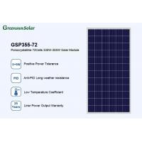 Buy cheap Solar Panel Greensun poly 340watt home power panels for wholesale from wholesalers