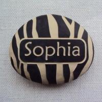 Buy cheap Custom Name Stone, Engraved Name Rock Gift for New Baby, Naming Day AP33 from wholesalers