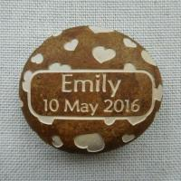Buy cheap Custom Engraved Name Pebble, Personalised Name Rock Gift for New Baby, Christening, Boy & Girl AP30 from wholesalers