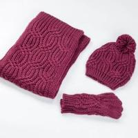 Buy cheap custom gloves and scarf sets manufacturer scarf from wholesalers