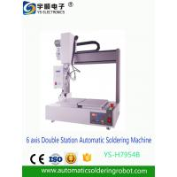 Buy cheap Automatic Soldering Robot 6 axis Double Station Automatic Soldering Machine from wholesalers