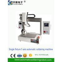 Buy cheap Automatic Soldering Robot Automatic soldering machine, five axis automatic soldering m from wholesalers