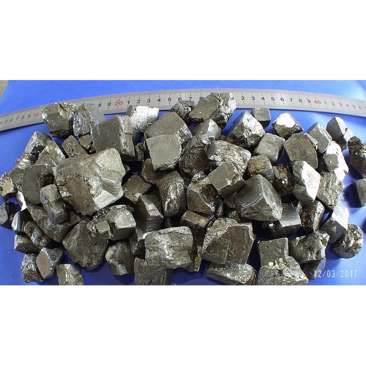 Buy cheap iron pyrite(10-50mm) from wholesalers